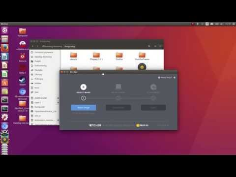 Etcher on Linux - how to download and use GUI app for write / burn ISO on USB