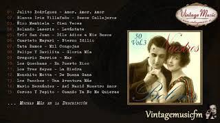 50 Nuestros Boleros  - Volumen #3. (Full Album/Álbum Completo)