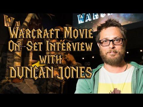 Duncan Jones | Warcraft Movie | On-Set Interview | TradeChat