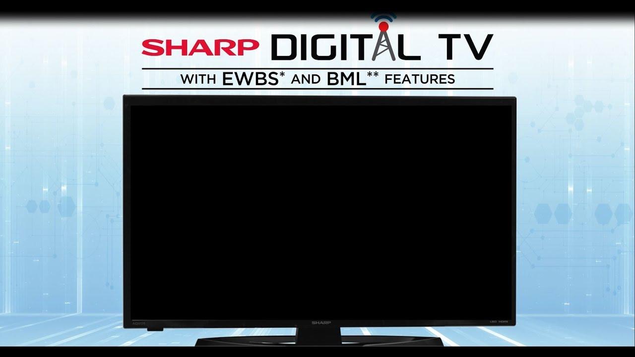 The SHARP Digital TV