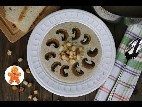 Грибной крем-суп из шампиньонов - пошаговый рецепт с фото