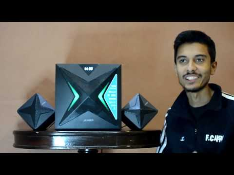 F&D F550X 2.1 Channel Multimedia Bluetooth Speakers - Review & Sound Test