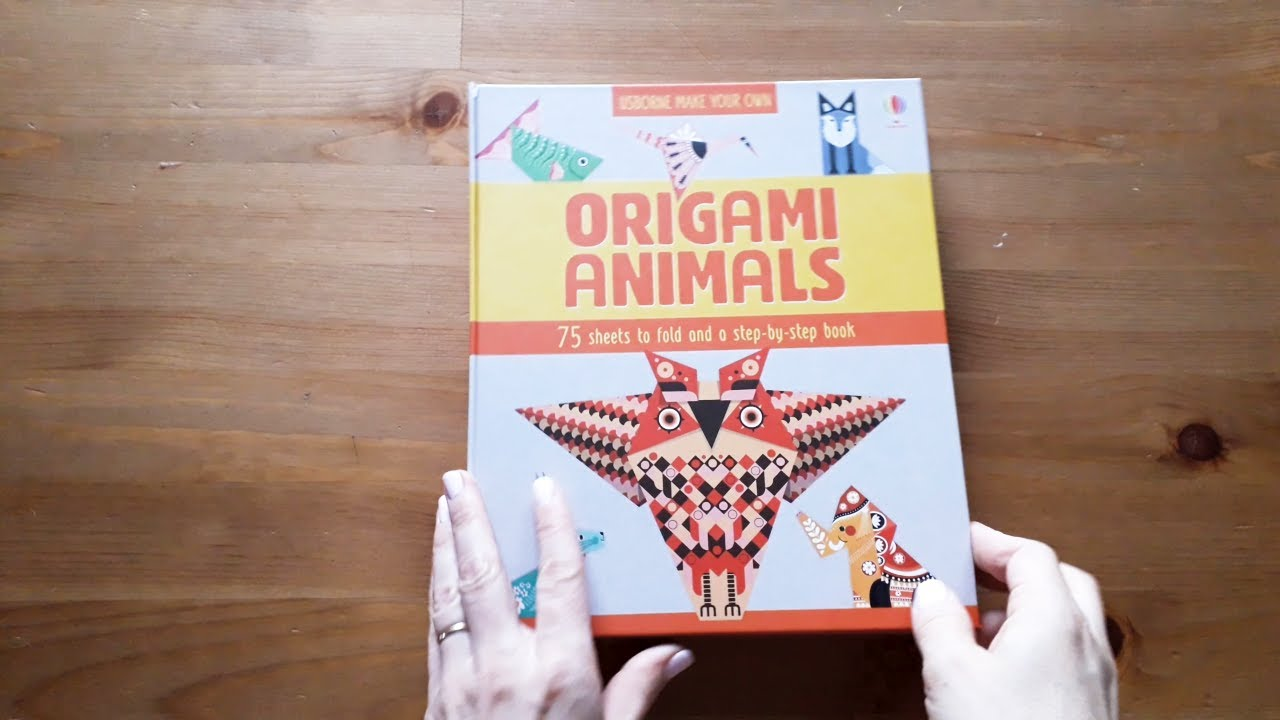 Origami Animals Kit by Matthew Gardiner | Crafting Books at The ... | 720x1280