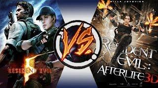 [Игра VS Фильм] Resident Evil 5 | Обитель зла: Жизнь после смерти