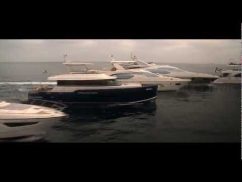 AZIMUT / BENETTI GROUP - 5 YACHTS RUNNING - (exclusive video)