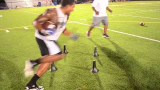 Giavanni Ruffin NFL Training ( 1string Sports )