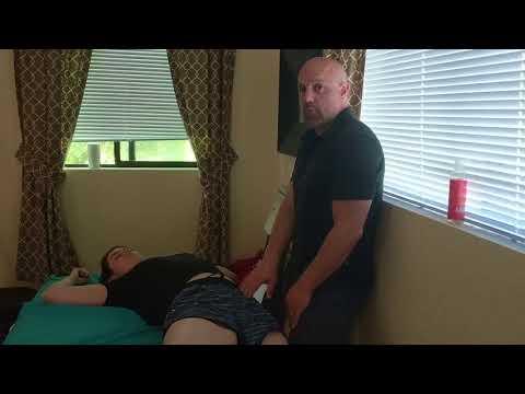 Massage Workshop - Quick Review of Intense Supine Hip Opener