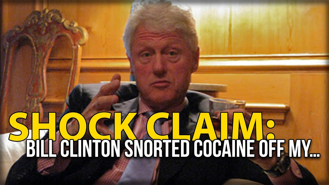 bill clinton cocaine