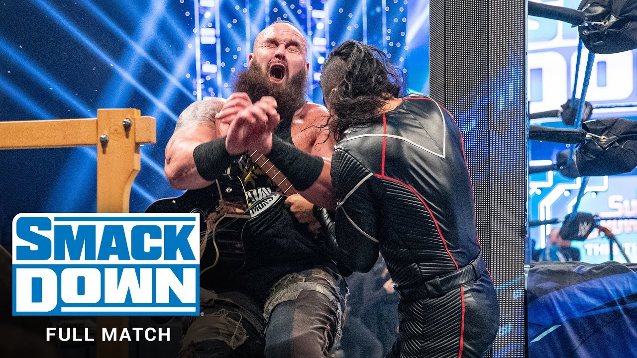 FULL MATCH - Braun Strowman & Elias vs. Cesaro & Shinsuke Nakamura: SmackDown, Feb. 21, 2020