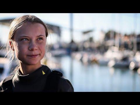 Greta Thunburg finishes