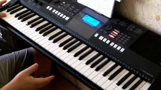 Тонкая рябина. Синтезатор Yamaha PSR E423. Обучение