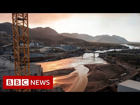 Nile dam: Satellite images show water levels rising - BBC News