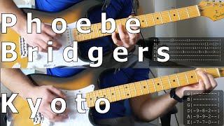 Phoebe Bridgers - Kyoto (Guitar cover w/ tabs)