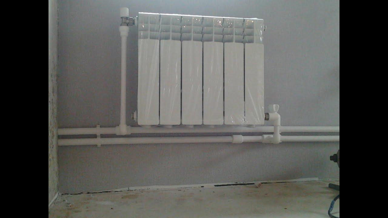 Батареи отопления в доме своими руками 399