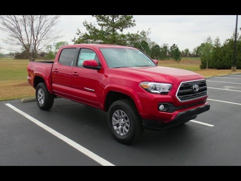 2017 Toyota Tacoma Sr5 V6 Doublecab Full Tour Start Up At Mey