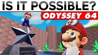 THE ULTIMATE MARIO 64 CHALLENGE IN SUPER MARIO ODYSSEY | Is It Possible?