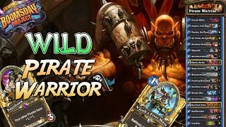 Wild Pirate Warrior Deck | Boomsday Project | Hearthstone