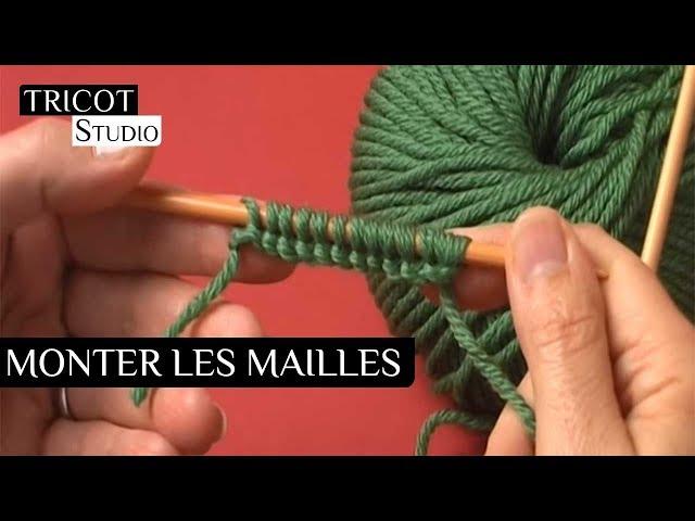 Monter Les Mailles Cafe Tricot Studio