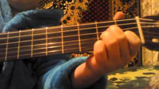 """В руках автомат (к/ф """"Мы из будущего"""") На гитаре"""