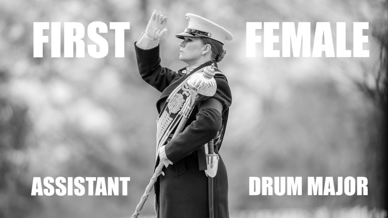 Drumming the Way | First Female Assistant Drum Major