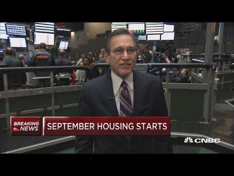 September housing starts down 5.3% vs. 4.8% estimate