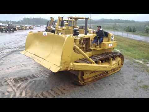 Old Cat D7 Cable Dozer