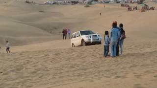 Thar Desert Off Road Tata Safari