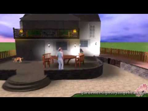 3D Garden Design Walkthrough