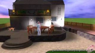 3D Garden Design Walkthrough