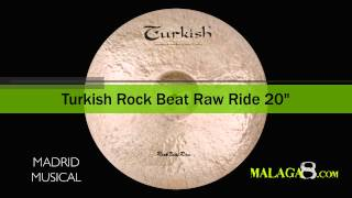 Platos Turkish Rock Beat Raw Ride 20""