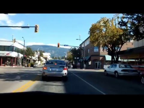 A short driving tour of Vernon BC