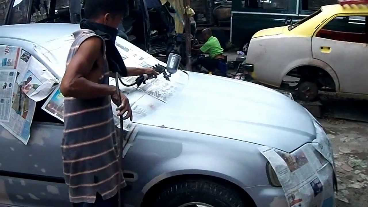 Car Paint Restoration Service