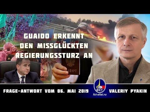 Guaido erkennt den missglückten Regierungssturz an (Valeriy Pyakin 6.5.2019)