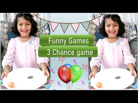 Funny game for Kids   Indoor game for kids   Family Game   Birthday Party Game with Ball