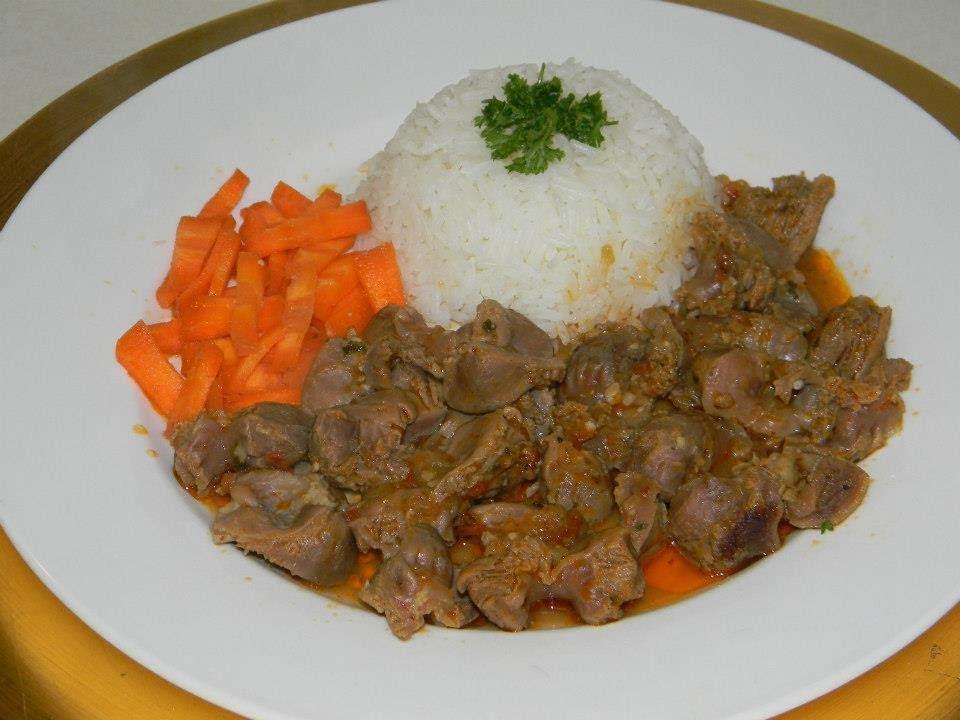 Recette de cuisine Mijot de Gesiers de volaille  YouTube