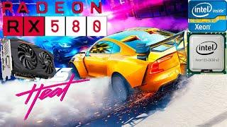 Intel Xeon E5 2630 V2|RX 580 4GB|Test de rendimiento en juegos