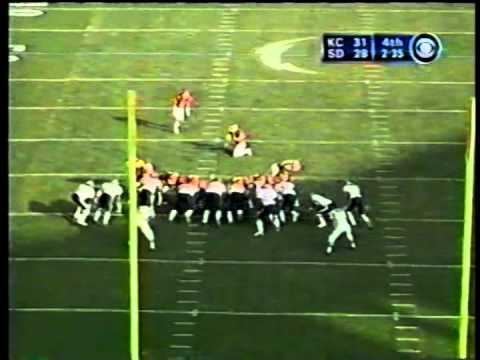Chiefs vs. Chargers, 2002