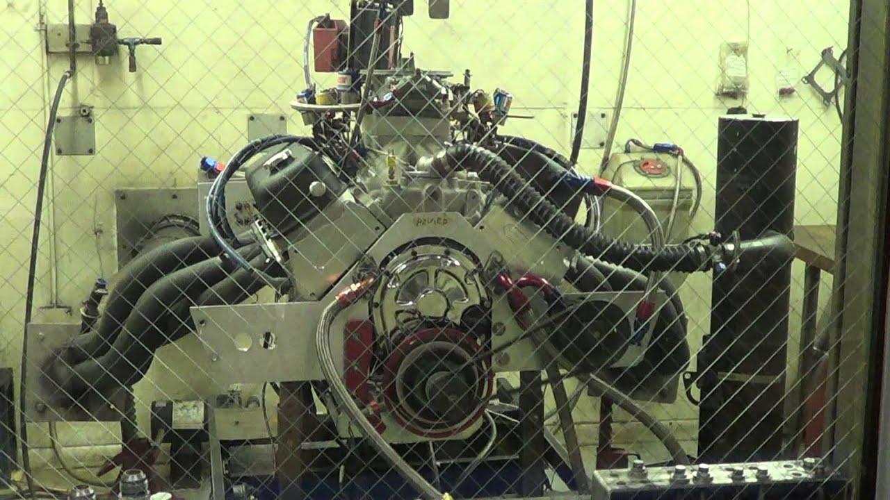 My new Reher Morrison 565 Nitrous motor