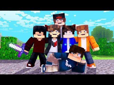 Minecraft: MUNDO L - NOSSOS NOVOS AMIGOS - ‹ JUAUM › #18