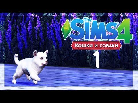 The Sims 4: Питомцы - 1 - Самая милая и игривая пёсень :З