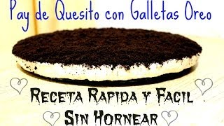 DIY CHEESECAKE NAVIDEÑO ‎/Pay de Queso con Oreo/ SIN HORNO! Thumbnail