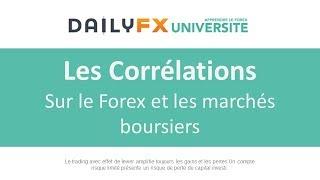 Les Corrélations Sur le Forex et les marchés boursiers
