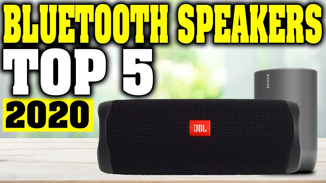 Top 5 Best Bluetooth Speaker 2020 Youtube
