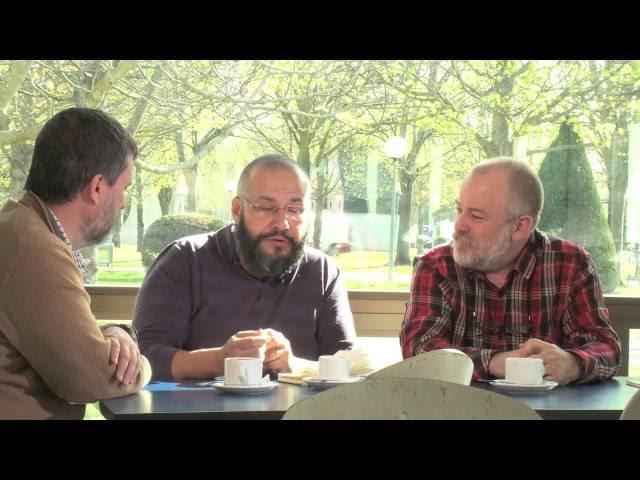 Un momento del nuevo vídeo 'Ciencia en el Bar', elaborado por la Universidad Pública de Navarra.