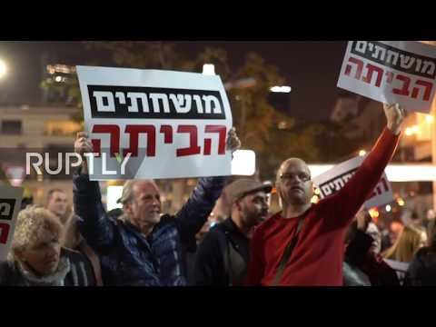 Israel: 1,000s rally against Netanyahu after son Yair's prostitute scandal