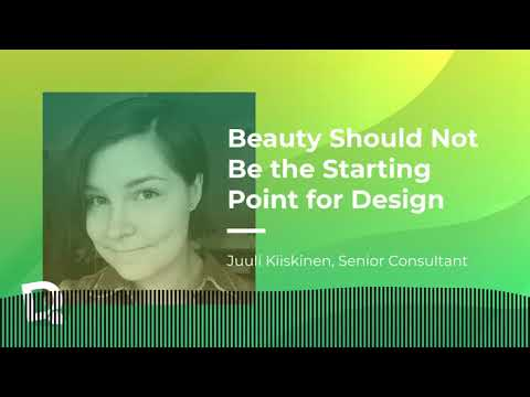 Beauty Should Not Be the Starting Point for Design – with Juuli Kiiskinen (The Drag and Drop Show)
