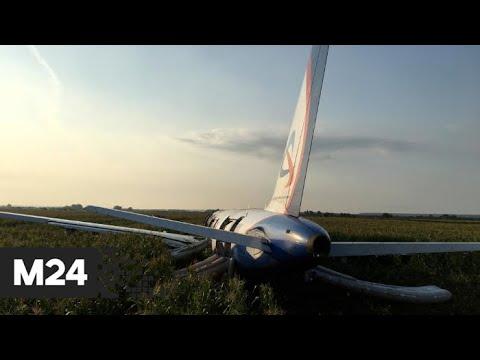 Жесткая посадка Airbus А321 в Жуковском не затруднила движение в районе ЧП - Москва 24