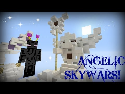 ANGELIC SkyWars - Minecraft - EPIC BIRDFIGHT!