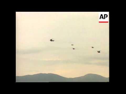 CROATIA: PLOCE: HELICOPTER CRASH KILLS 4 BRITISH SOLDIERS