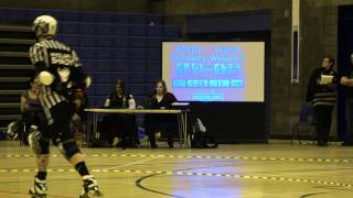 Auld Reekie Roller Girls Home Season: Cherry Bombers vs Leithal Weapons: P2J20,21